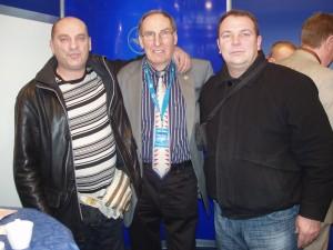 """Sajam u Dortmundu, sa gospodinom Theodor Backsom, vlasnikom nemačke kompanije """"Backs"""""""
