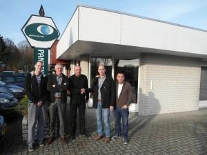 U poseti kompanij Pantex, sa generalnim menadžerom, gospodinom Jan Van Limptom